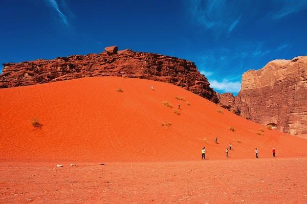 Wadi Rum-ørkenen, Jordan