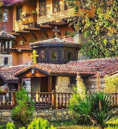 Gamle ortodokse klosteret i Varna, Bulgaria