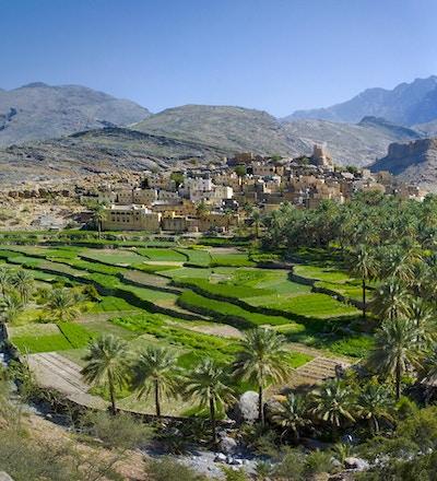 Landsbyen Bilad Sayt, Oman