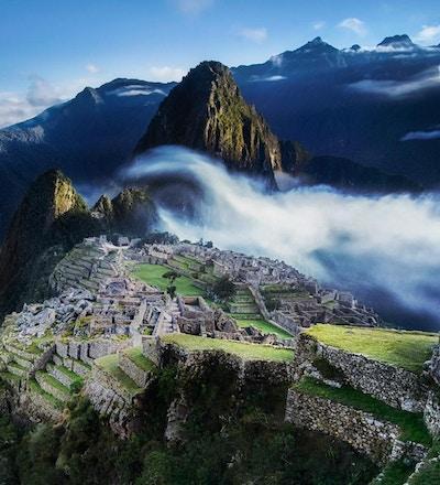 Oversikt over Machu Picchu