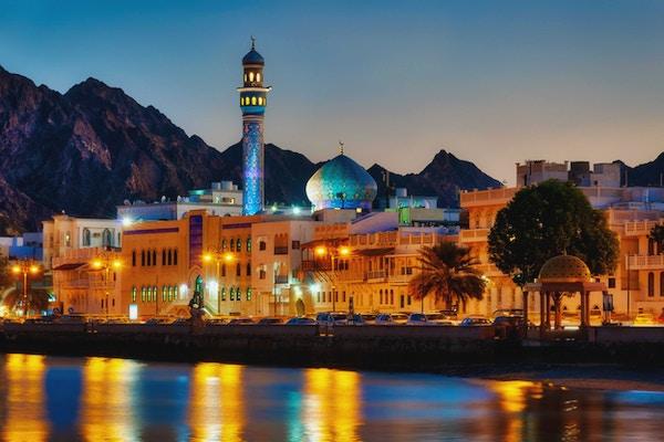 Muttrah Corniche, Muscat, Oman tatt i 2015