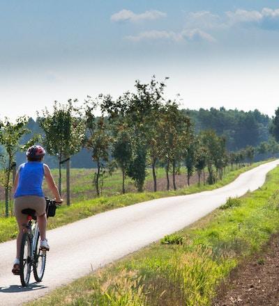 Ute å sykler