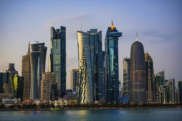Byens skyline og bygninger - Doha, Qatar