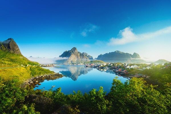 Reine Village, Lofoten, Norge