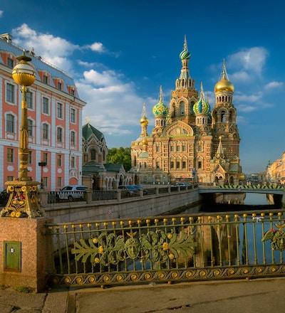 Oppstandelsens kirke (frelser på sølt blod). St. Petersburg