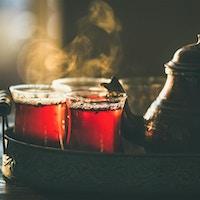 Tyrkisk te i Istanbul.