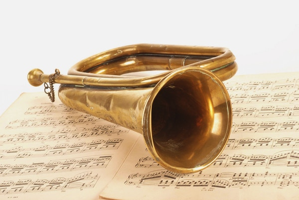 Noter og messinginstrument