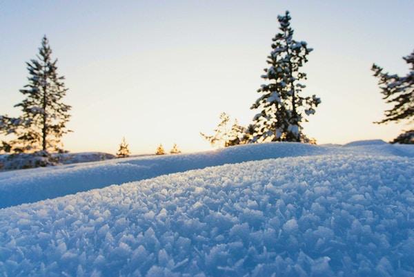 Iskrystaller i Finnmark