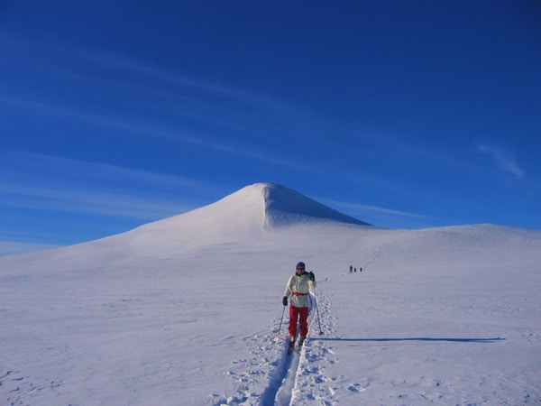 Valdres norway skiing winter tour