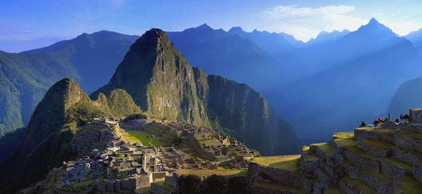Et verdensarvsted, Machu Picchu i Peru.