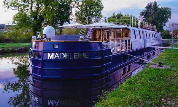 Kanalbåten MS Madeleine