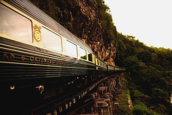 På reise med Orientekspressen i Asia