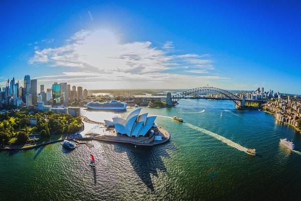 Operahuset i Sydney er en arkitektonisk perle.
