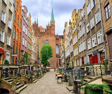 Mariacka gaten i Gdansk