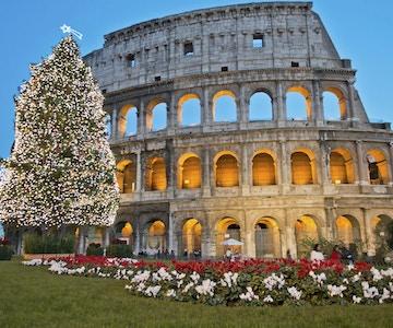 Roman Colosseum feirer jul