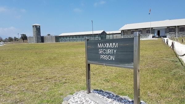 Robben Island, der Nelson Mandela satt fengslet