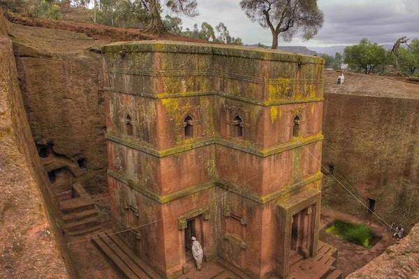 Bet Giorgis i Lalibela er en korsformet steinkirke som ble bygget i det 12. århundre.