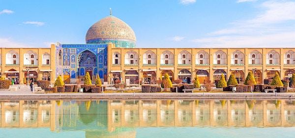 Isfahan i Iran har mange arketektoniske perler å by på.