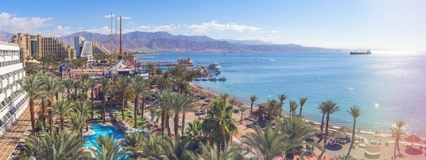 Aqaba marina i jordan.