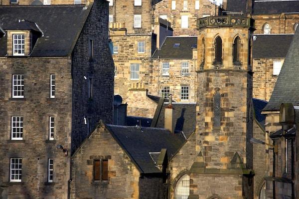 Gamlebyen i Edinburgh