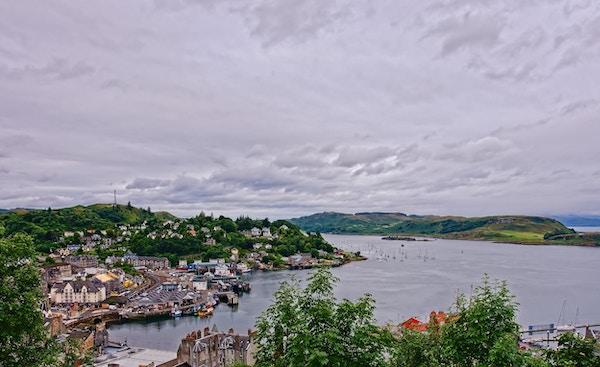 Oban er en kystby nordvest for Skottland og en berømt turistattraksjon.