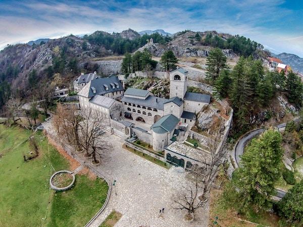 Kloster i Cetinje, Montenegro.