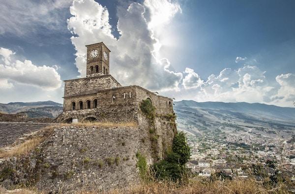 Gjirokastra-slott i Albania, Unesco verdensarvliste