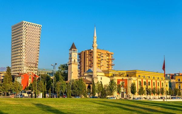 Et'Hem Bey-moskeen i Tirana - Albania