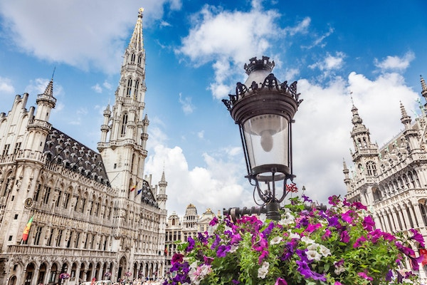 The Grand Place i Brussel, Belgia