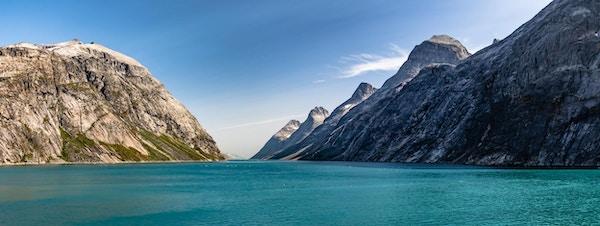 Hav og fjell, Prins Christians sund på Grønland.