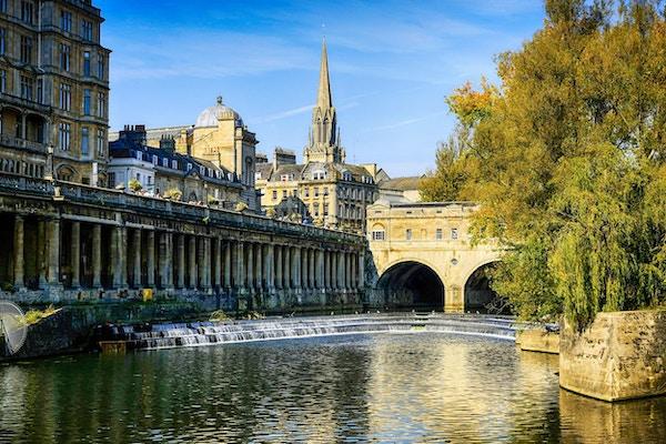 Elv i Bath, England.