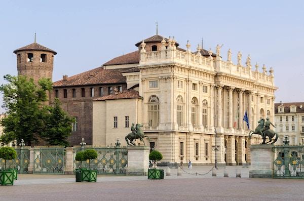 Piazza Castello og Palazzo Madama, Torino, Italia