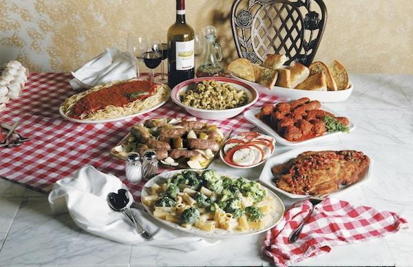 Deilig mat i Italia