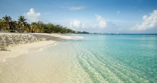 Seven Mile Beach på Grand Cayman, Caymanøyene