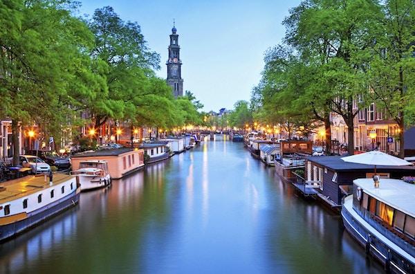 Amsterdam svikter ikke