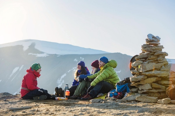 Matpause i fjellene