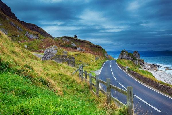 Highway i Irland, område: Causeway Coast, County Antrim