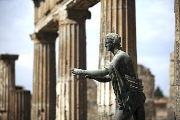Statuer i Pompeii