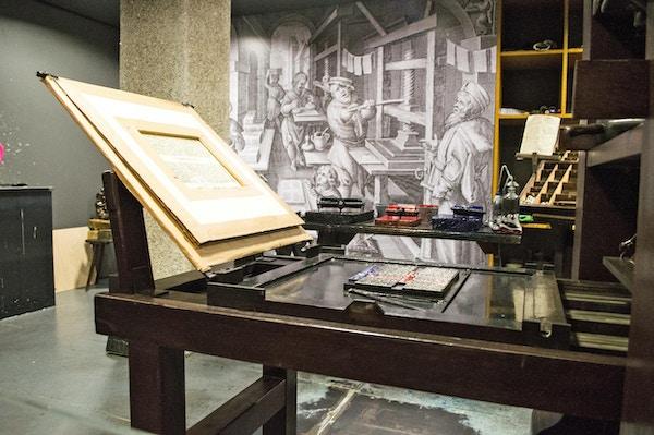 Gutenberg museet i Mainz
