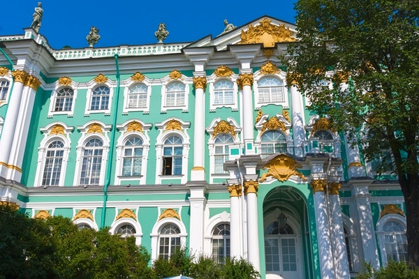 Eremitasjemuseet - vinterpalass av russiske konger, St. Petersburg, Russland