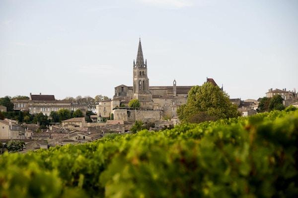 Saint Emilion i Bordeaux