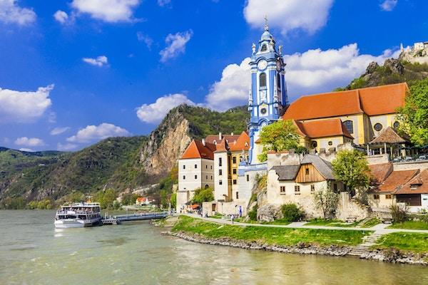 Pictorial Wachau-dalen, Niederösterreich.