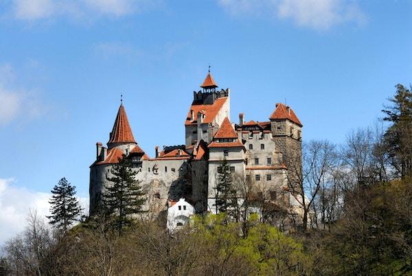 """Nydelig slott """"BRAN"""" fra 1200-tallet, Romania, Europa"""