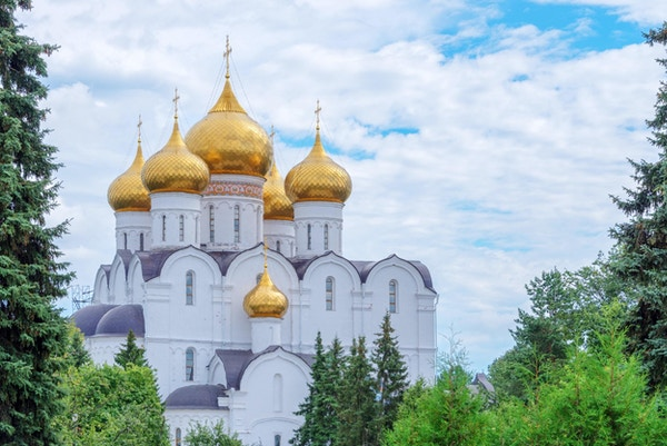Assumption Cathedral, Yaroslavl, Golden ring, Russland