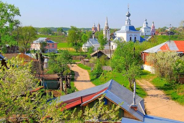 Russisk landskap - Kloster og kirker, Suzdal, Golden Ring