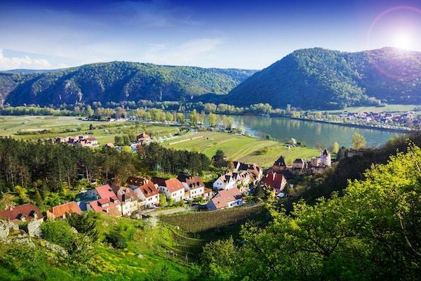 Durnstein, Wachau-dalen. Østerrike.
