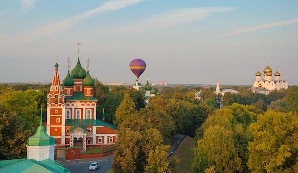 Erkeengelen Michael kirke ved vollet i Jaroslavl