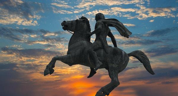 Skulpturen til Alexander den store