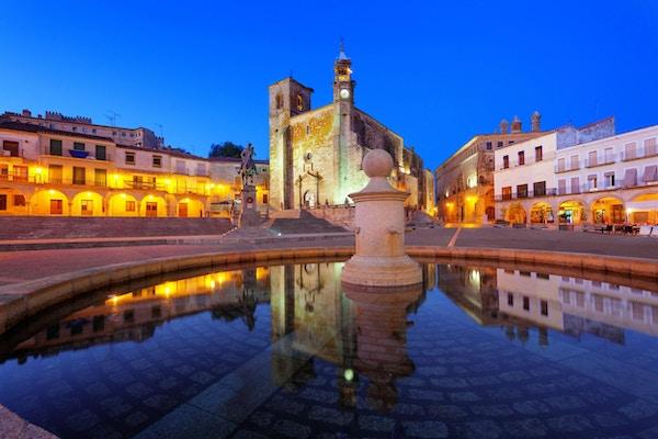 Trujillo er en middelalderlandsby i provinsen Caceres, Spania