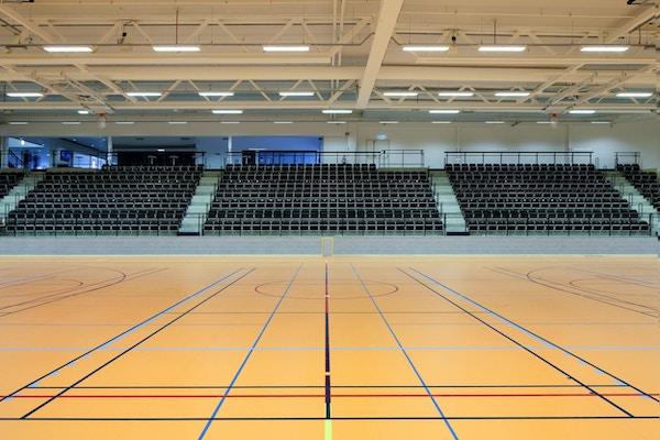Prioritet serneke arena sporthalla